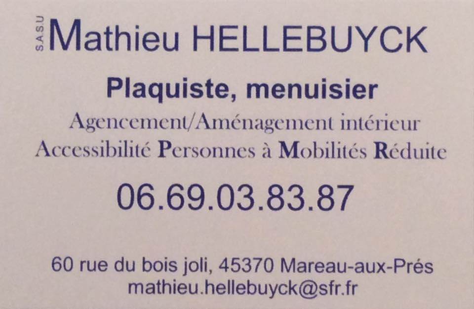 Carte Visite Mathieu HELLEBUYCK